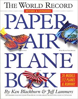 A really good paper airplane book