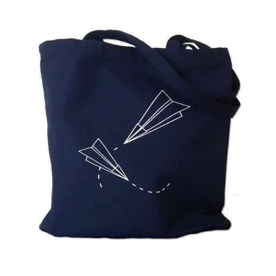 paper airplane bag