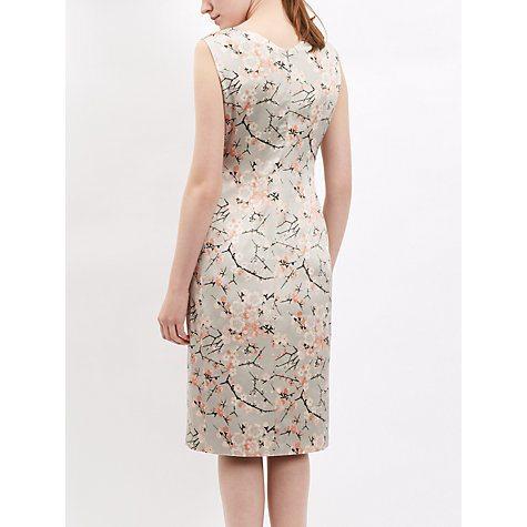 jaeger silk cherry blossom dress