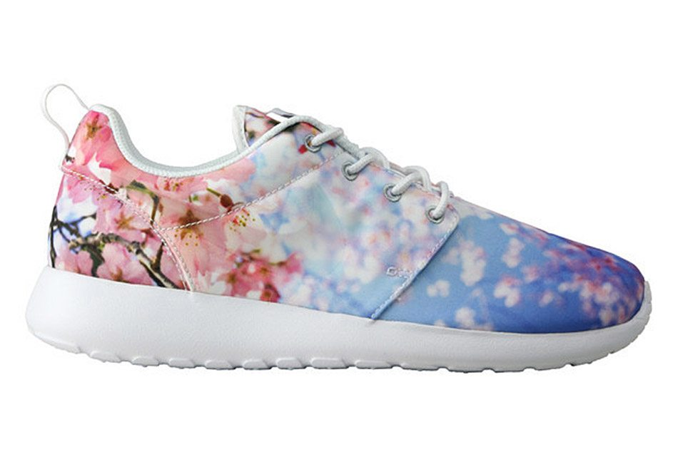 nike cherry blossom trainer