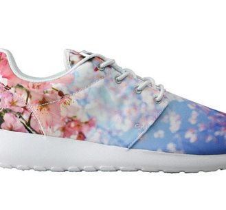 Sakura time!: Cherry blossom print trainer by Nike