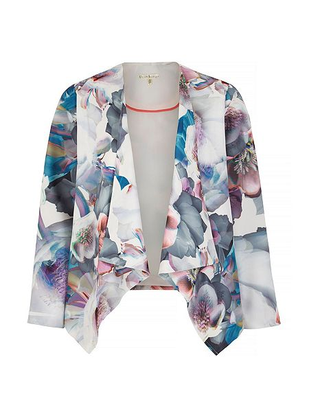 uttam cherry blossom waterfall jacket