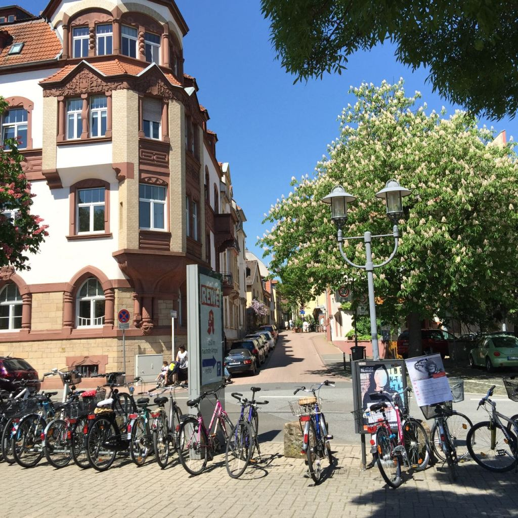 Our amazing neighbourhood in Heidelberg