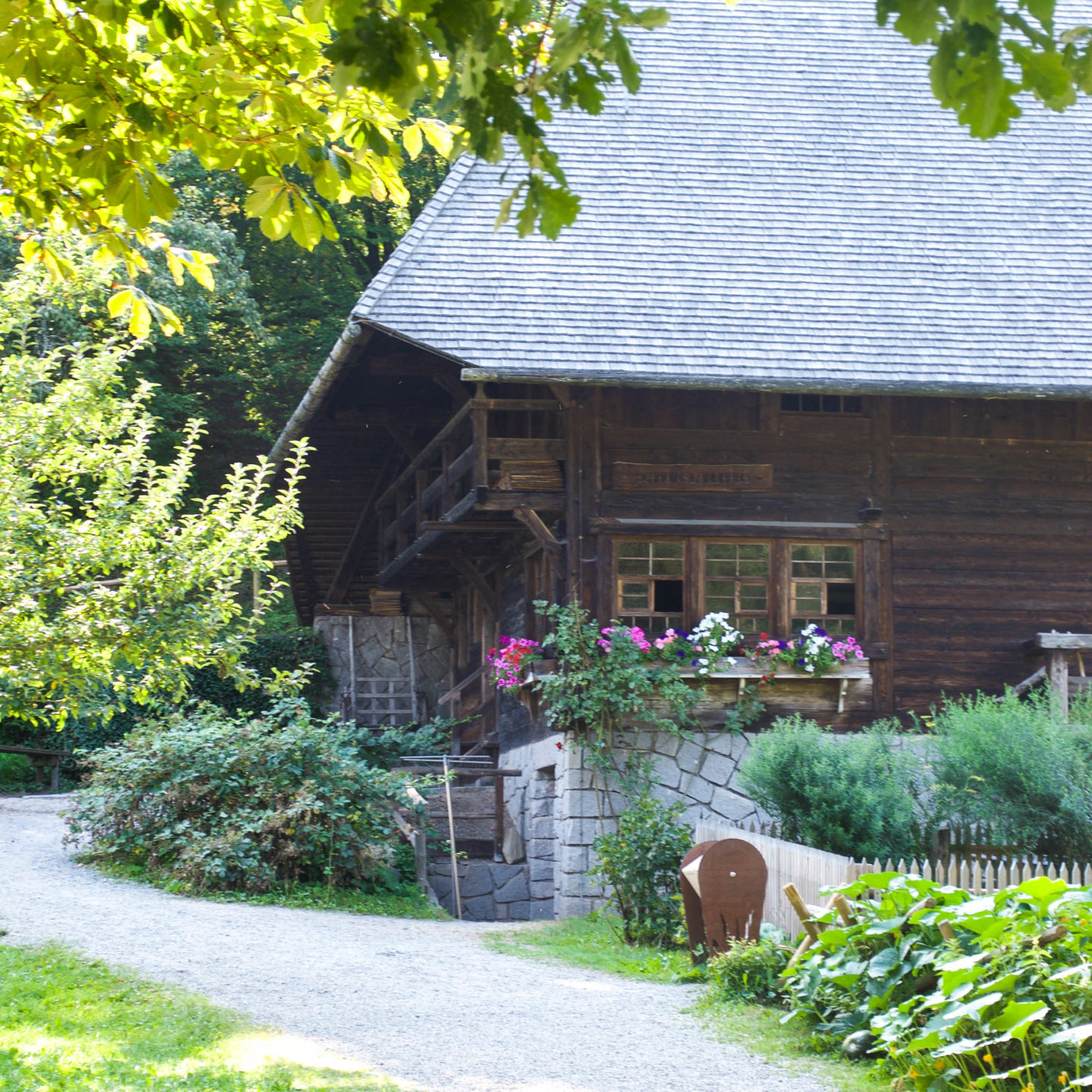 More gorgeous farmhouses in the museum area.