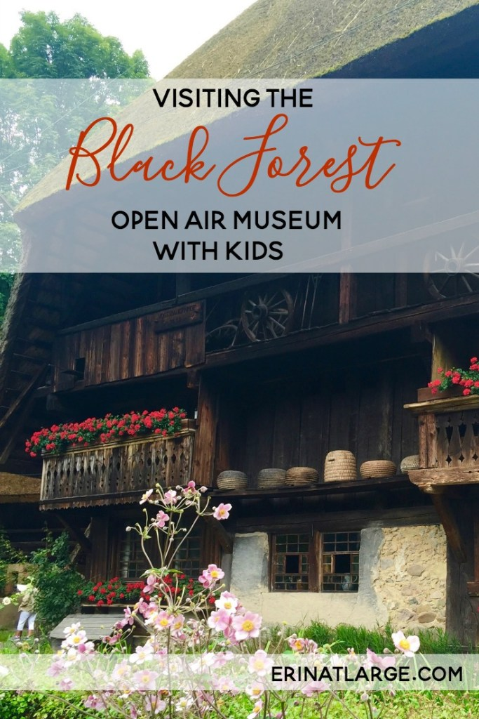 visiting the black forest open air museum with kids