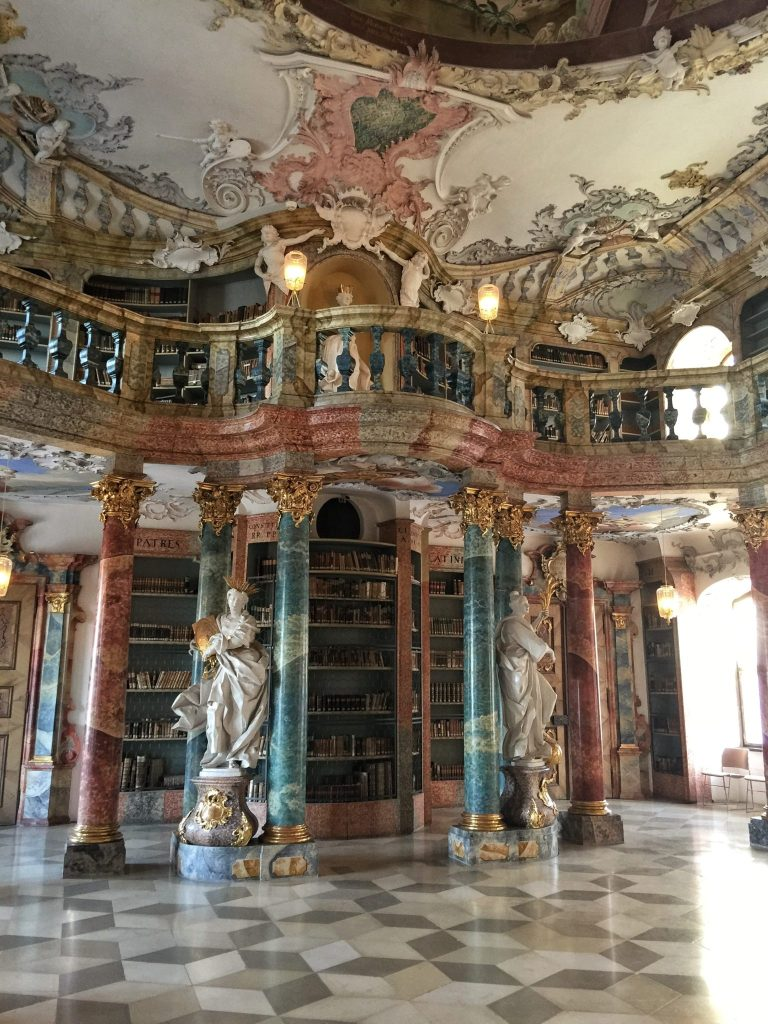 The incredible Wiblingen Abbey library in Ulm