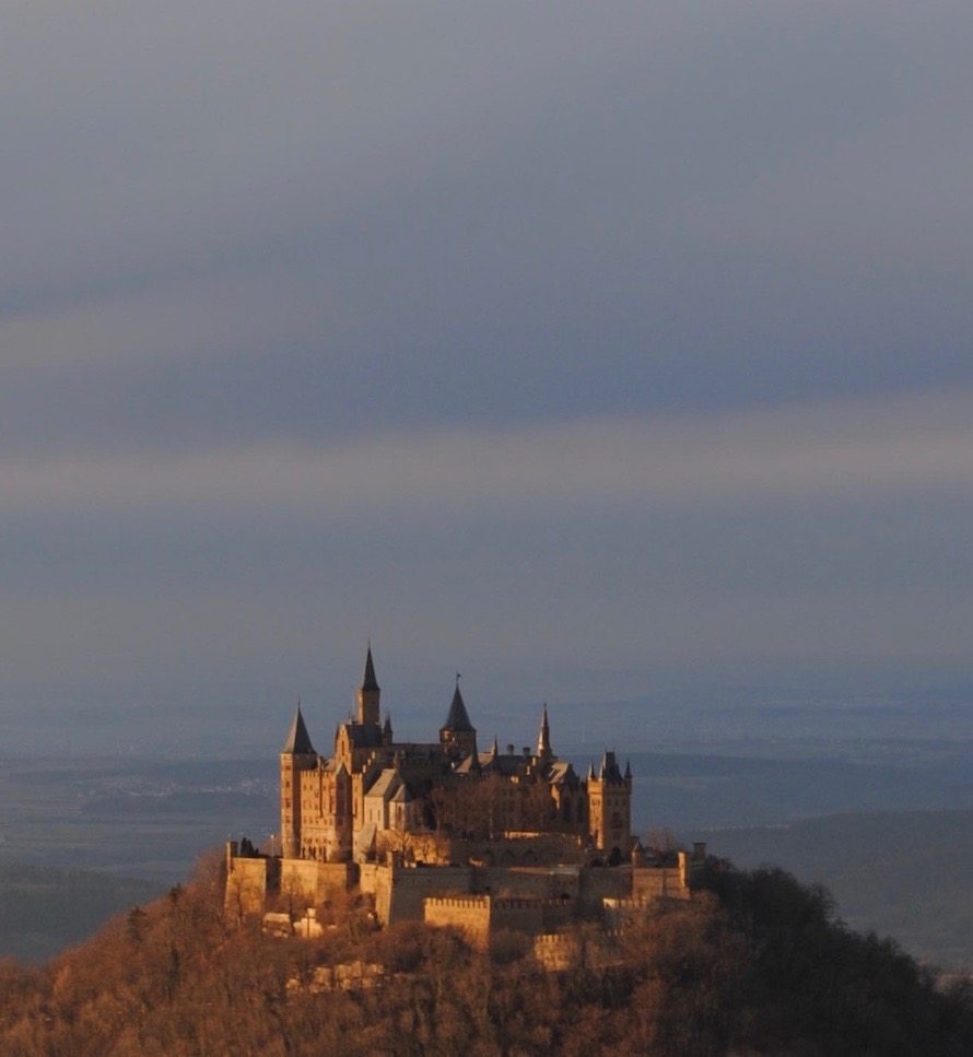 Visiting Burg Hohenzollern with kids