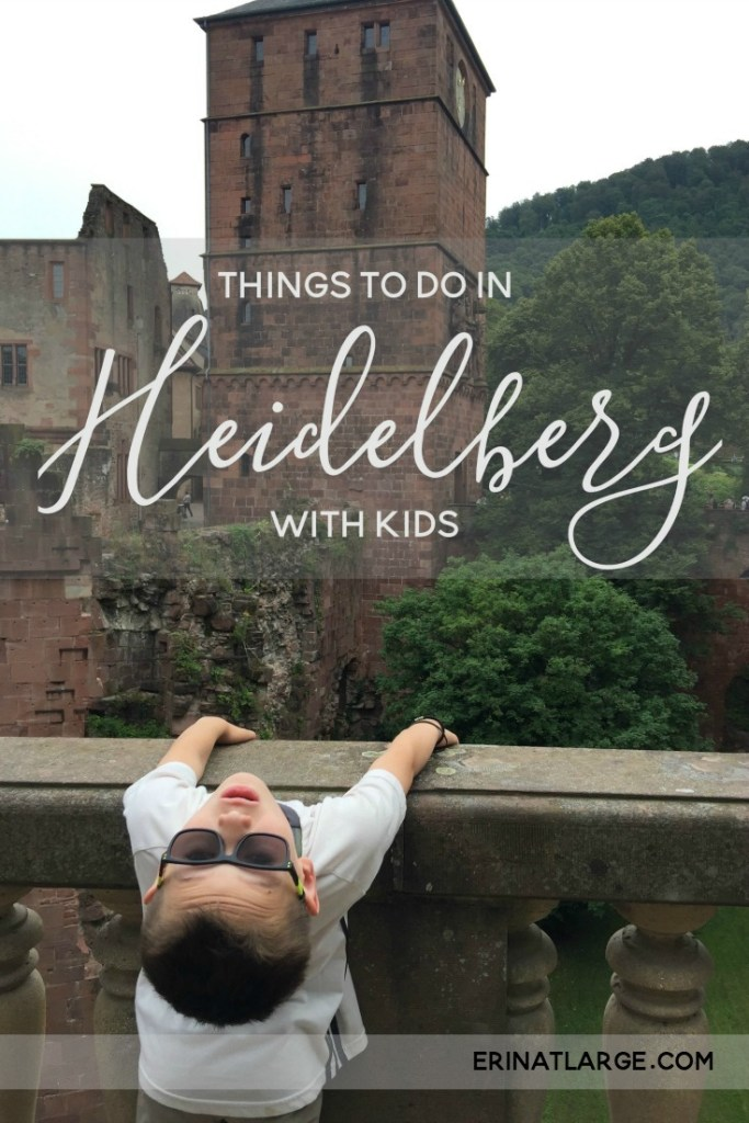 Things to do in Heidelberg with Kids PIN