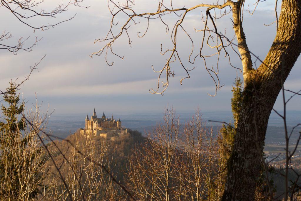 The breathtaking Burg Hohenzollern