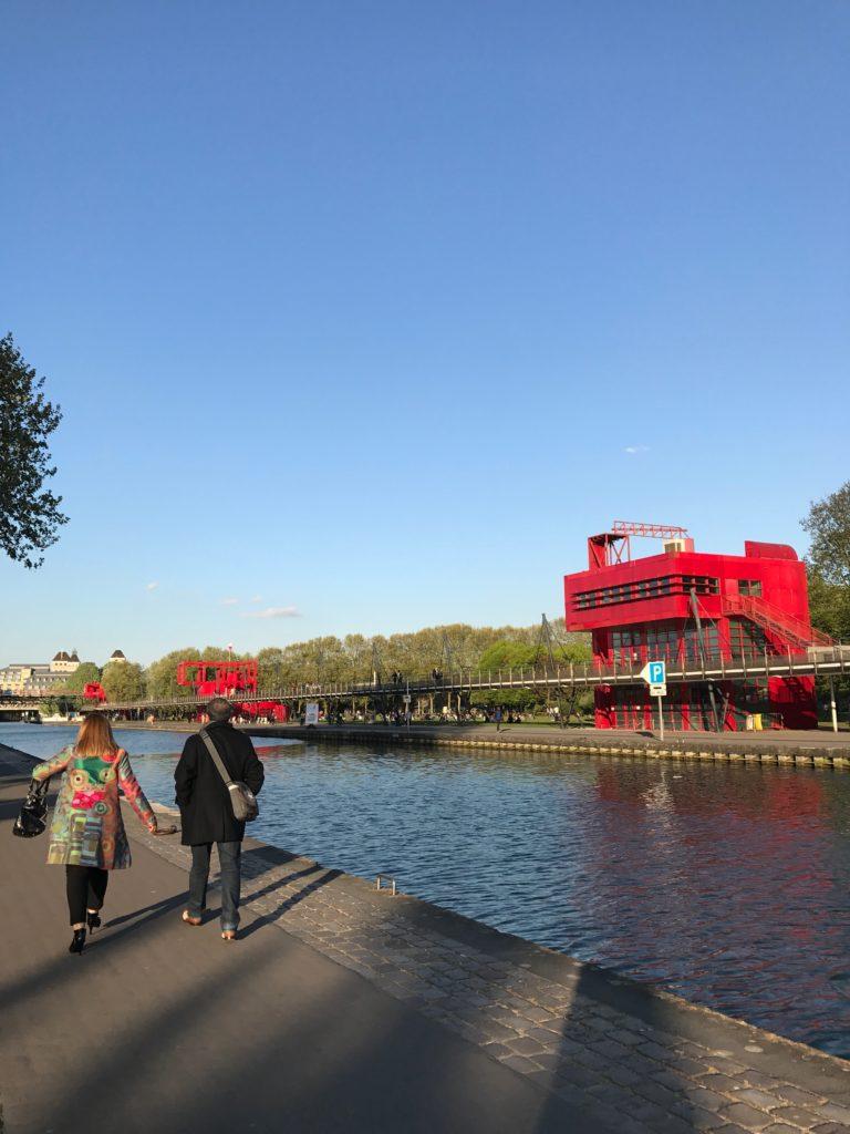 paris with kids - parc de la villette canals