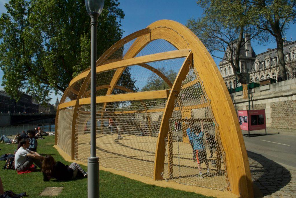 paris with kids – seine playgrounds