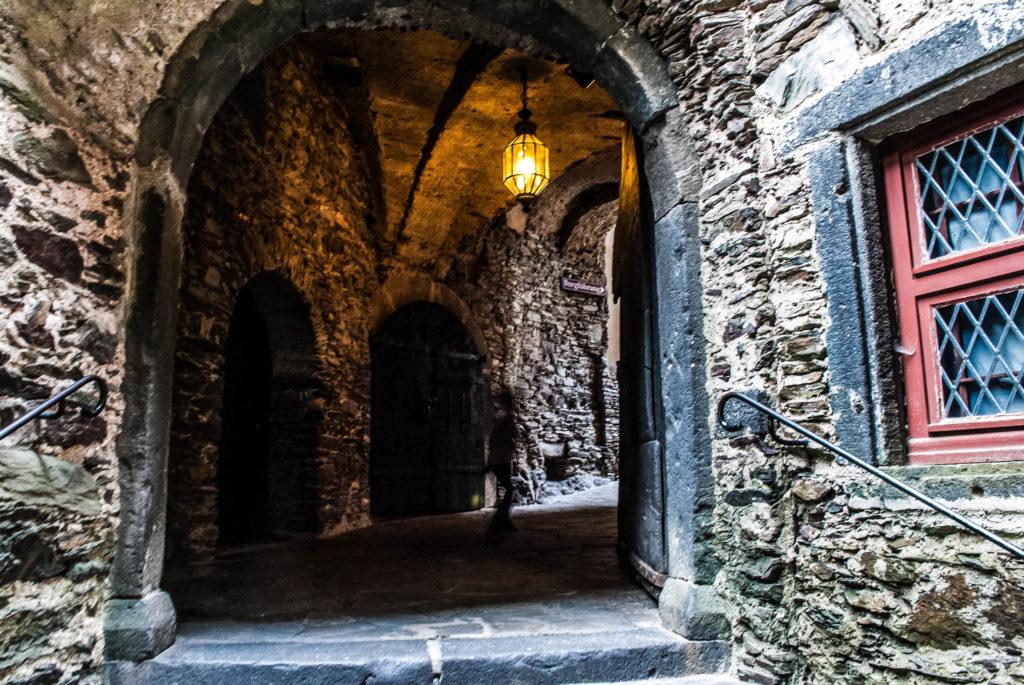 Inner courtyard at Burg Eltz.