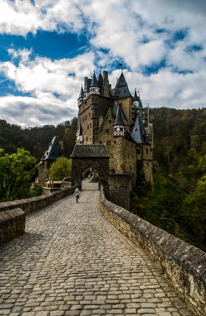 Our favourite German castle, Burg Eltz, is quite close to Cochem