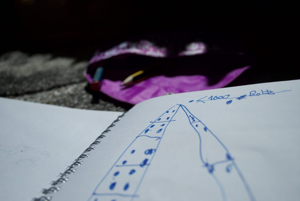Kids Travel Journal DIY – drawing prompts
