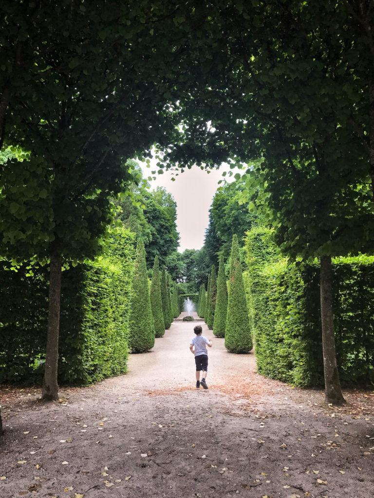 Pretend Mozart is around the next corner in the Schwetzingen Palace Gardens.