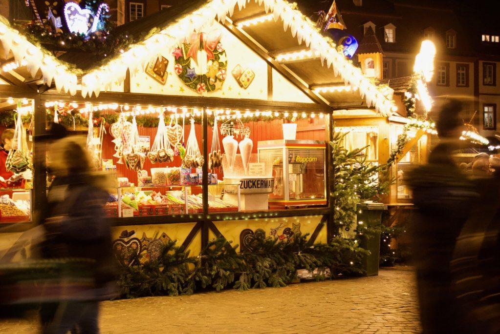 Heidelberg Christmas Market candy 2
