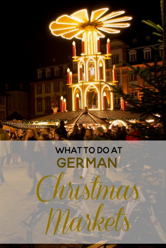 what to do at German Christmas Markets PIN