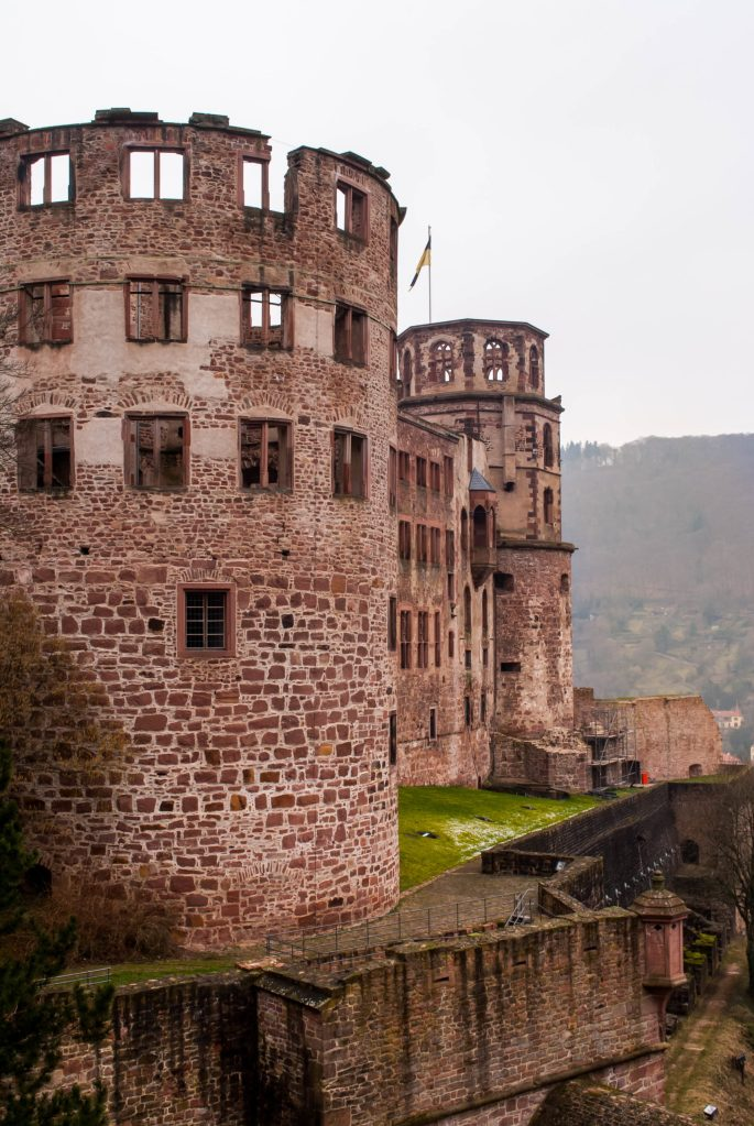 Heidelberg Castle tower tall