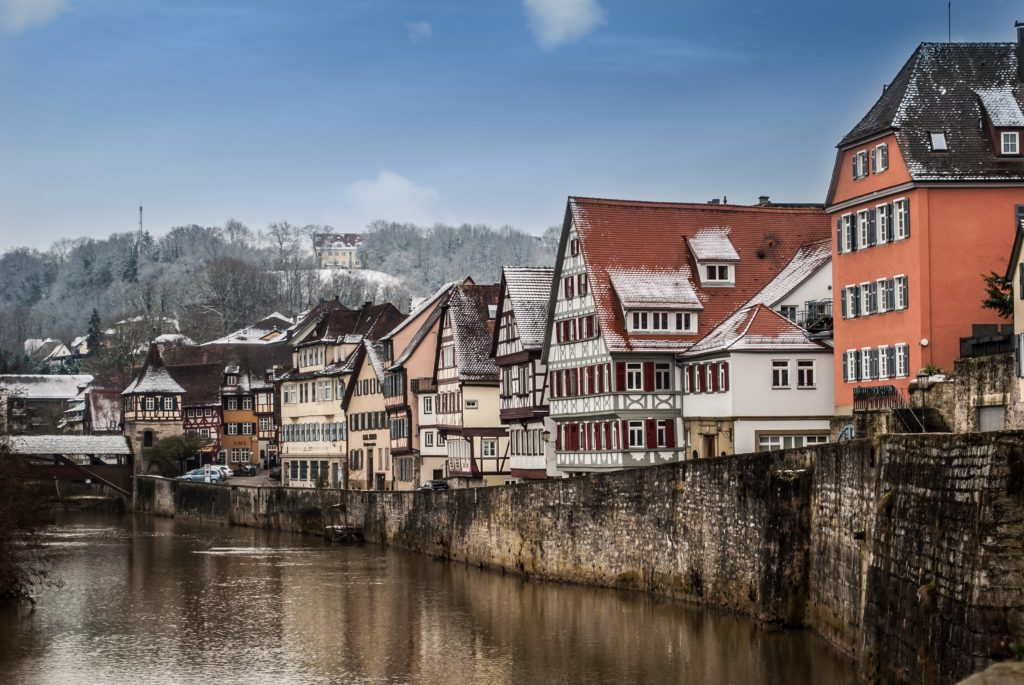 Who can resist these cute Fachwerk houses along the river?