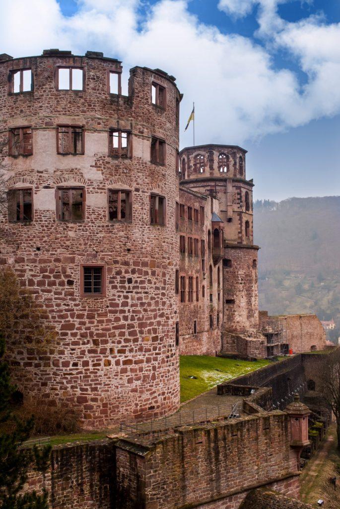 heidelberg castle tall