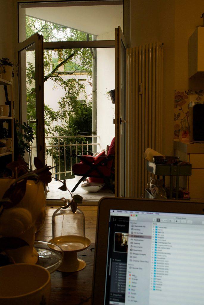 EM kitchen desk balcony
