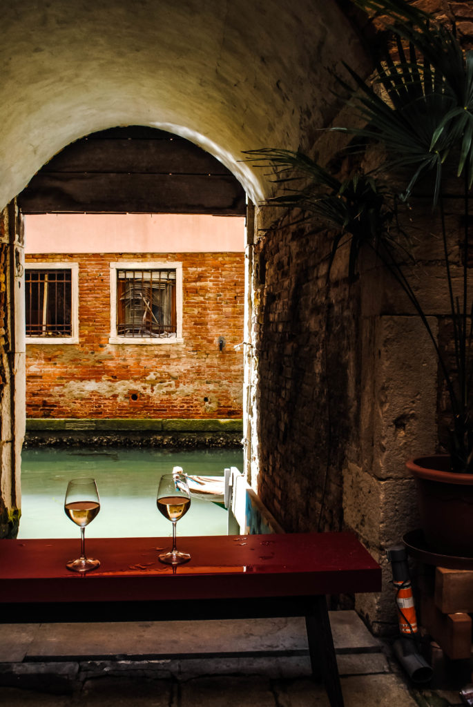 How gorgeous is this first stop on our Venetian food and wine tour?