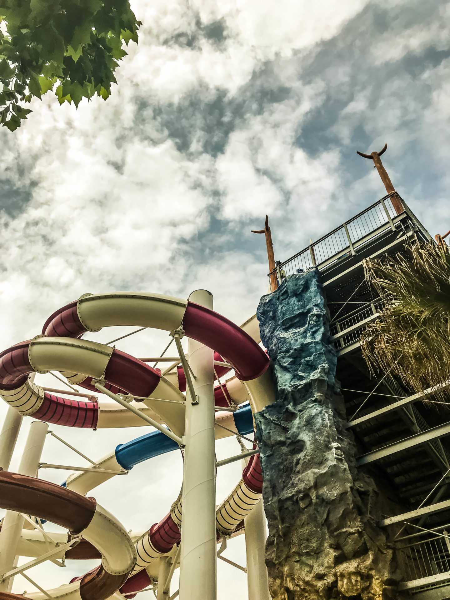 Waterslides at Union Lido