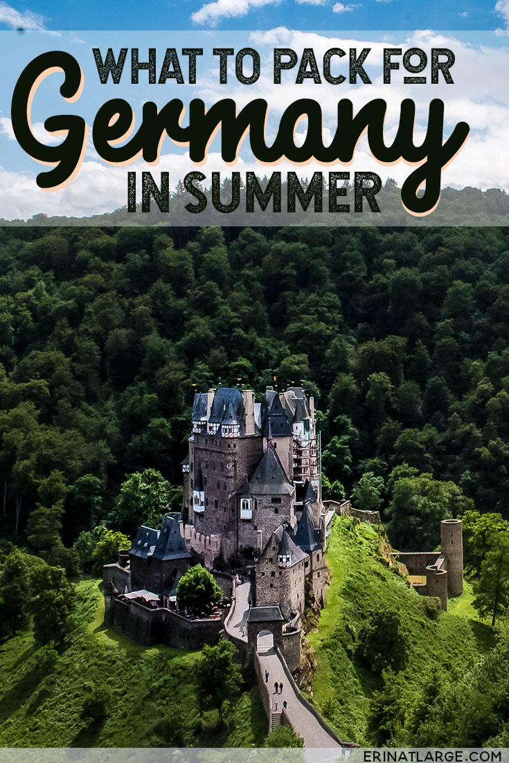 summer germany packing list