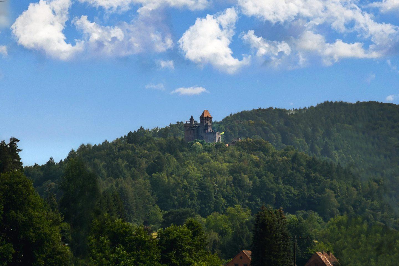 Burg Berwartstein from a distance 2