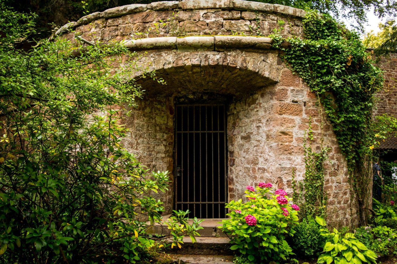 Burg Berwartstein garden 2