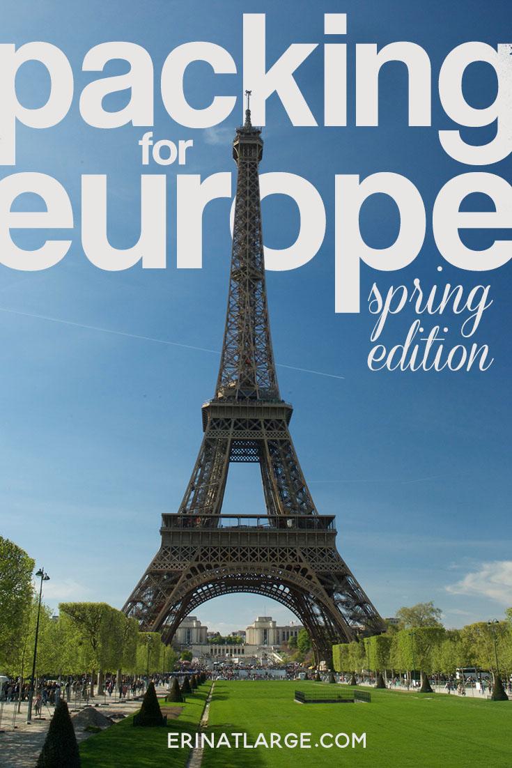 packing for europe SPRING PIN
