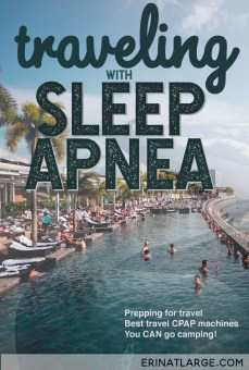 When you're traveling with sleep apnea, it can feel like a hassle going on holiday. But traveling with a CPAP machine isn't all that difficult. Recommendations for travel CPAP machines, CPAP travel accessories, and more, from someone who HAS sleep apnea.