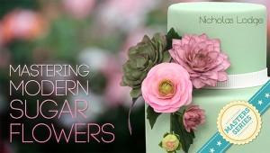 Nicolas Lodge Modern Sugar Flower Craftsy Class Discount Link | ErinBakes.com