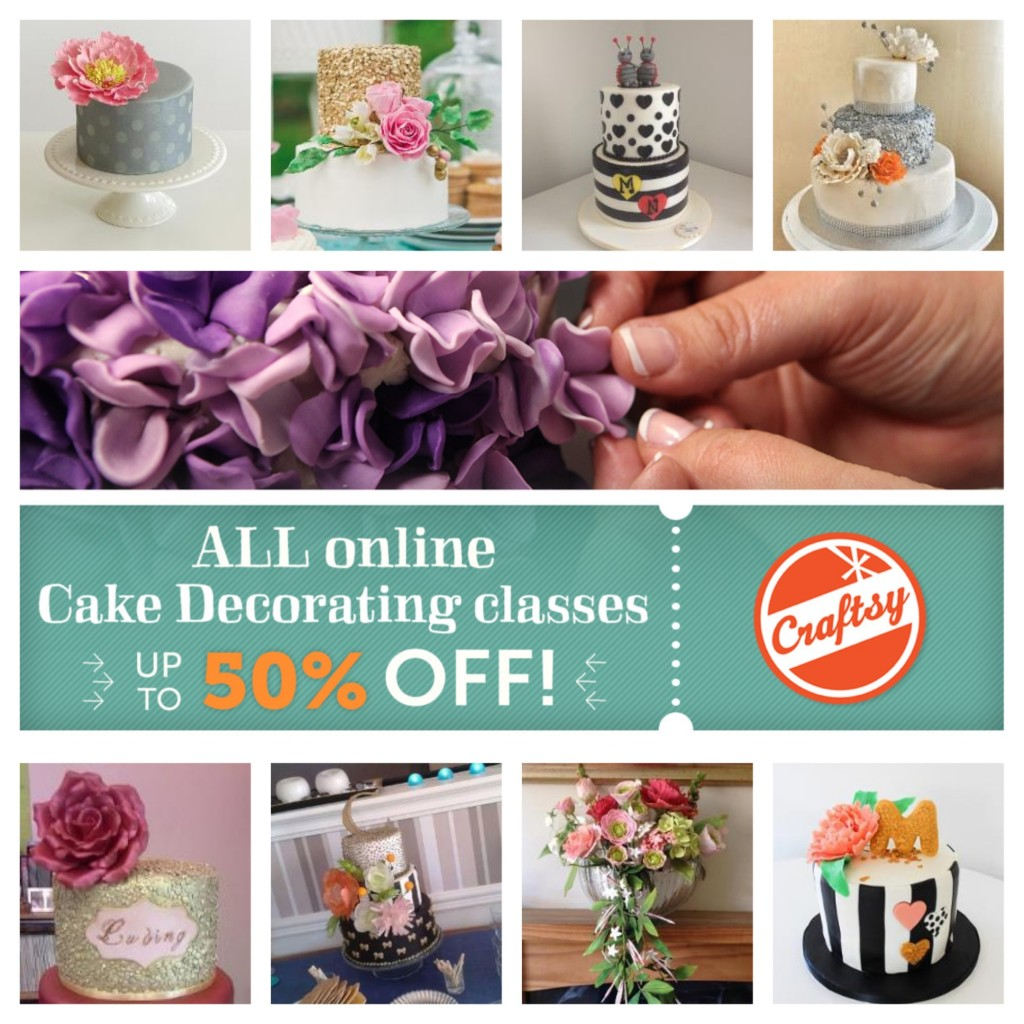 Craftsy Class Discount Sale Link | ErinBakes.com