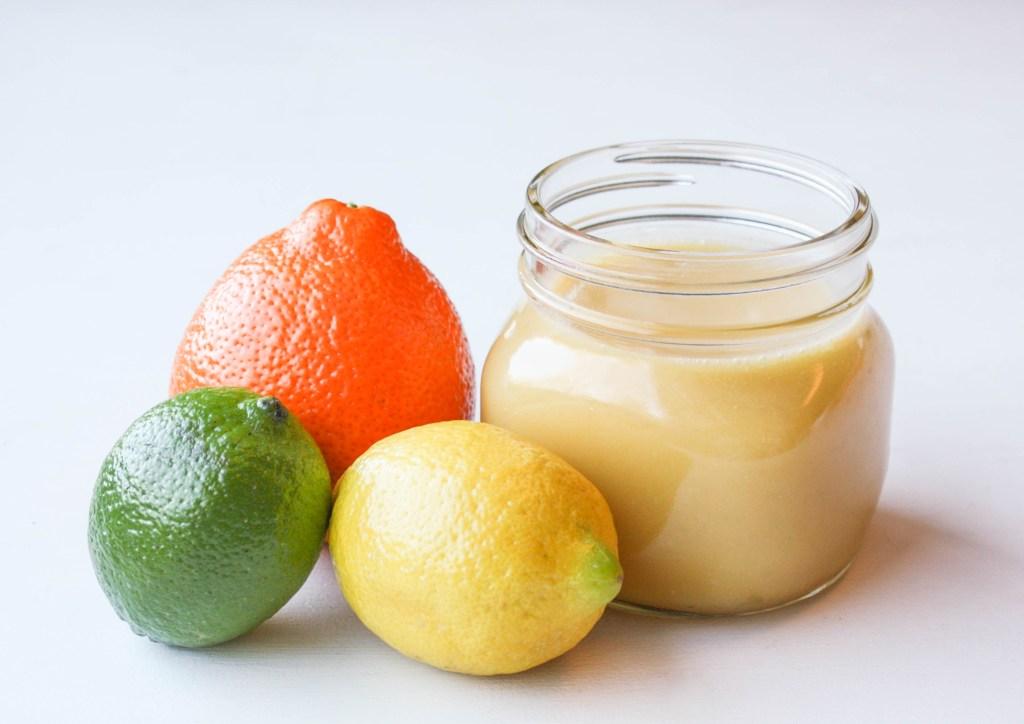 Microwave Triple Citrus Curd   Erin Bakes