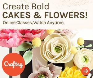 Cakes in Full Bloom Craftsy Class | Erin Gardner