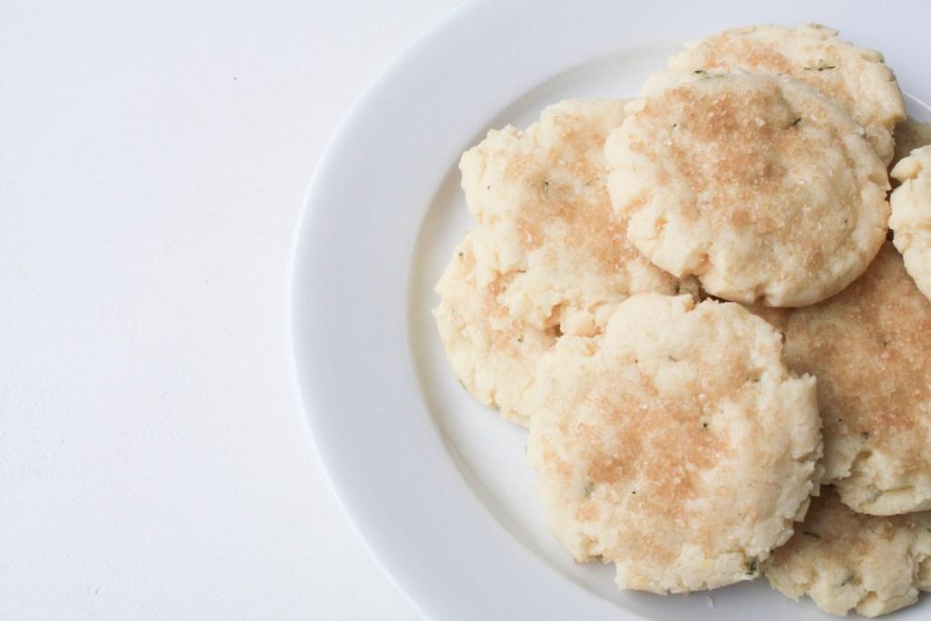 Lemon Rosemary Cookies   Erin Bakes