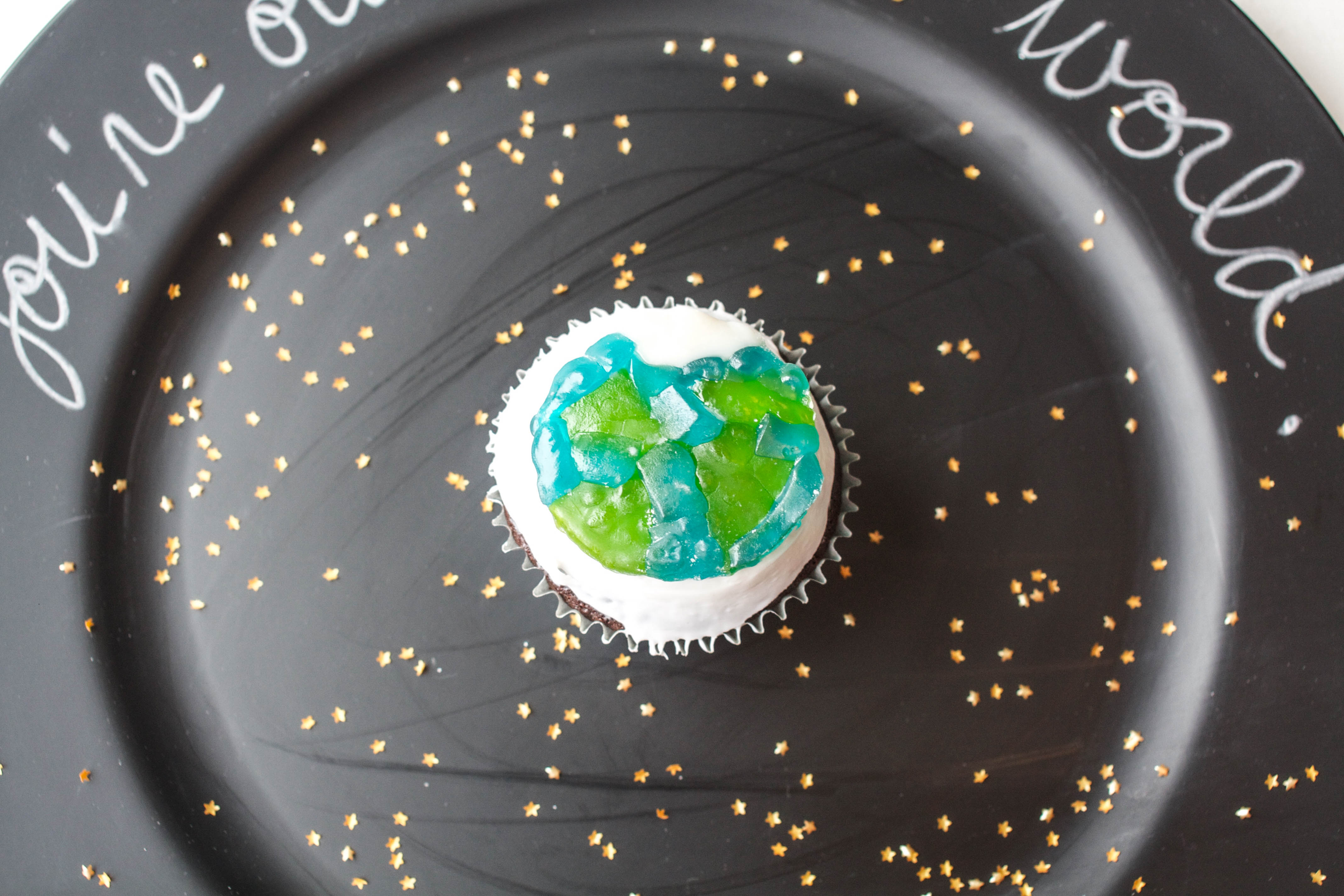 How To Make Gummy Candy Planet Cupcakes | Erin Bakes