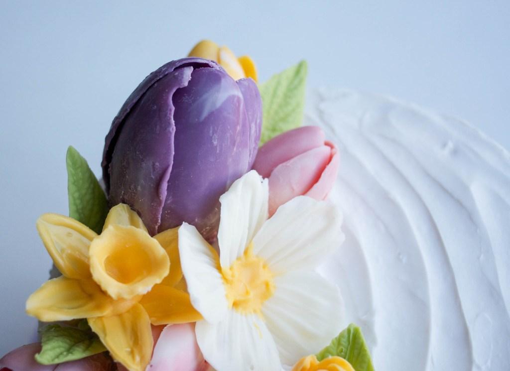 Spring Chocolate Flowers Cake | Erin Bakes