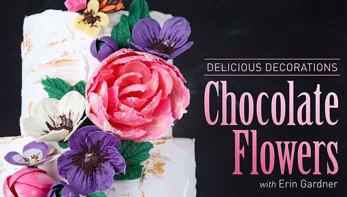 Chocolate Flowers   Erin Bakes