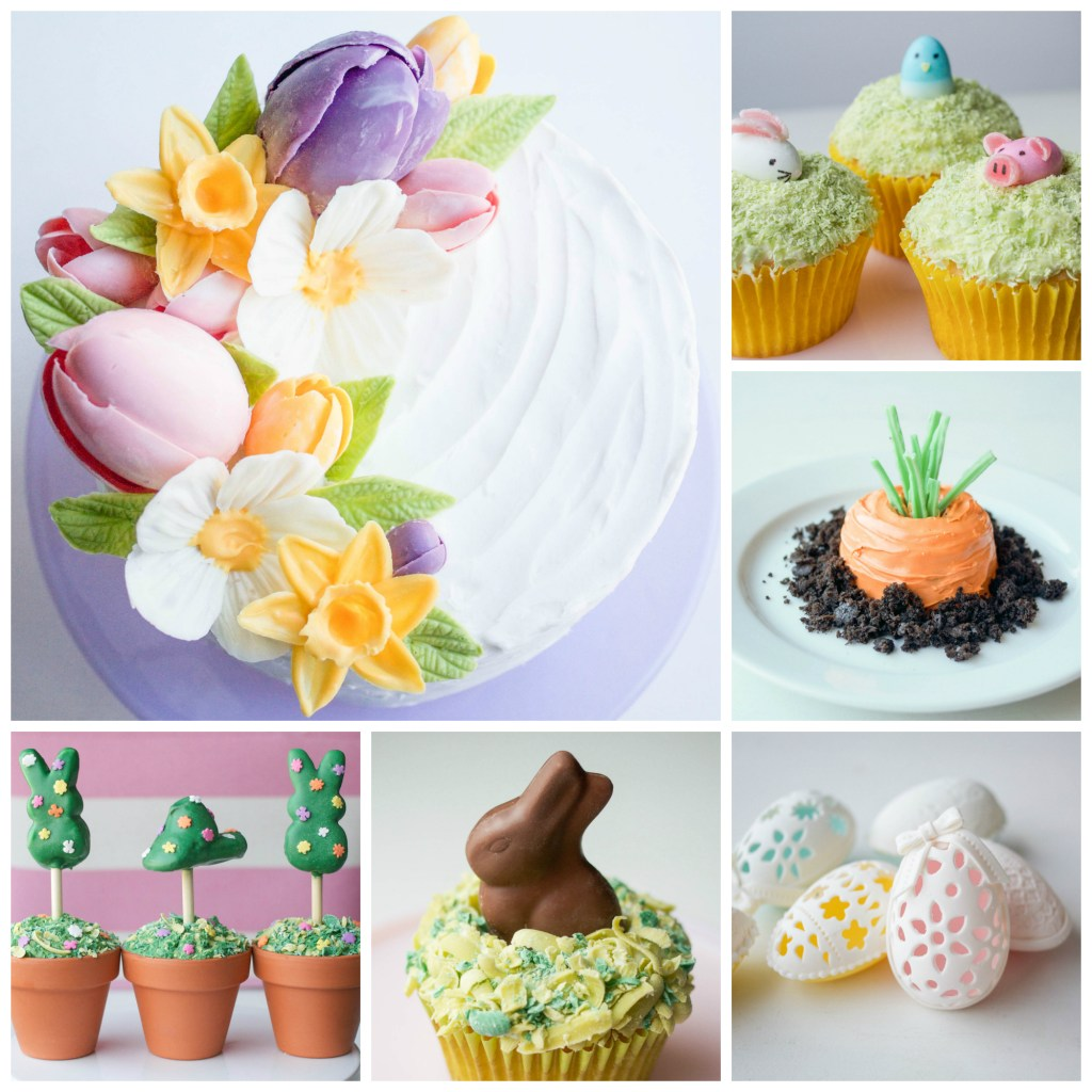 Easter Dessert Tutorial Roundup