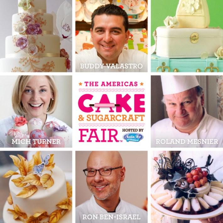 Cake & Sugarcraft Fair   Satin Ice   Erin Bakes