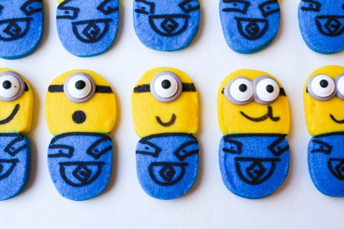 Easy Minion Cookies | Erin Bakes