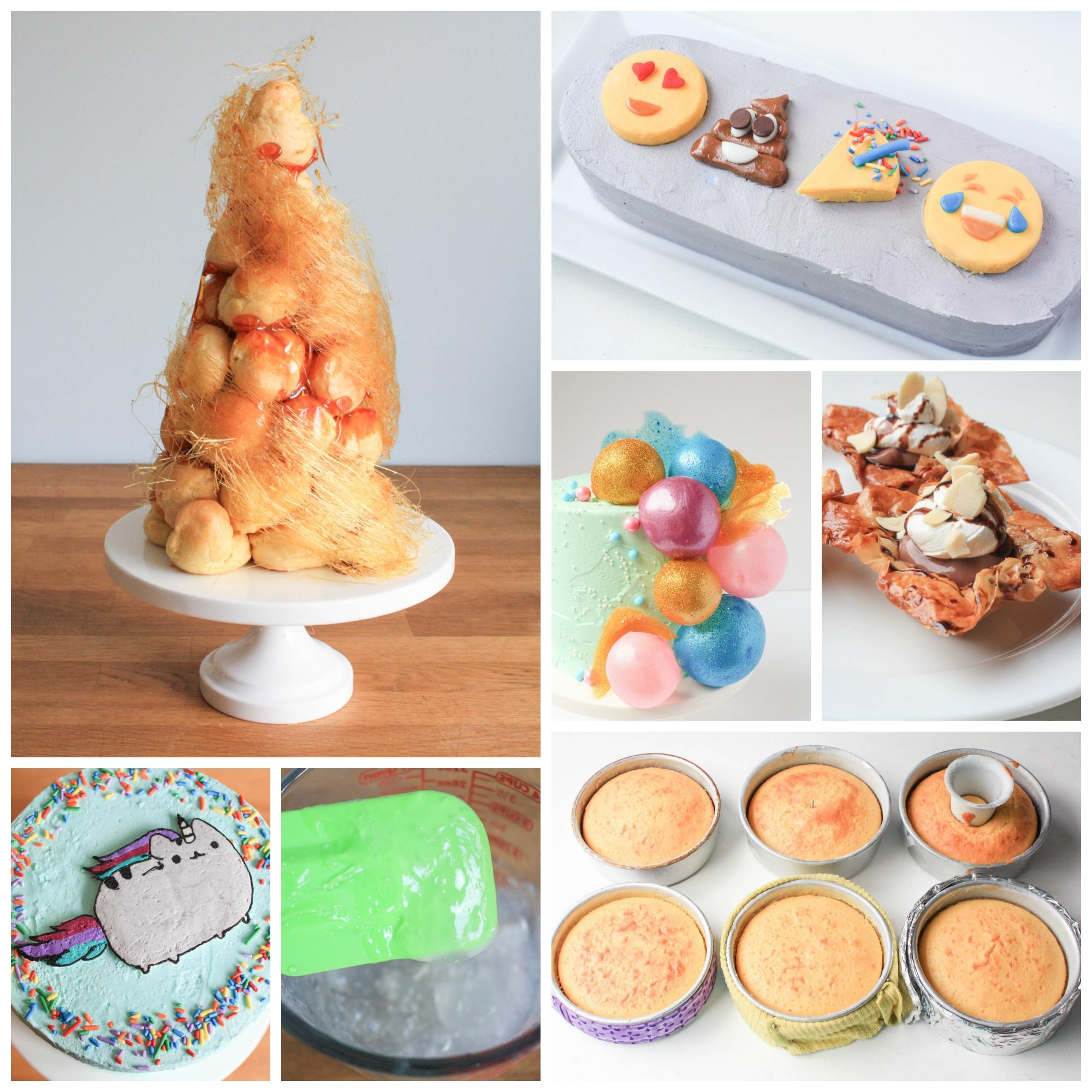 Craftsy Blog Post Roundup - Free Cake Decorating Tutorials ...