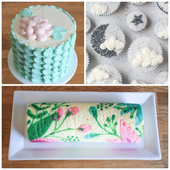 Free Cake Decorating Tutorials | Erin Gardner |Craftsy