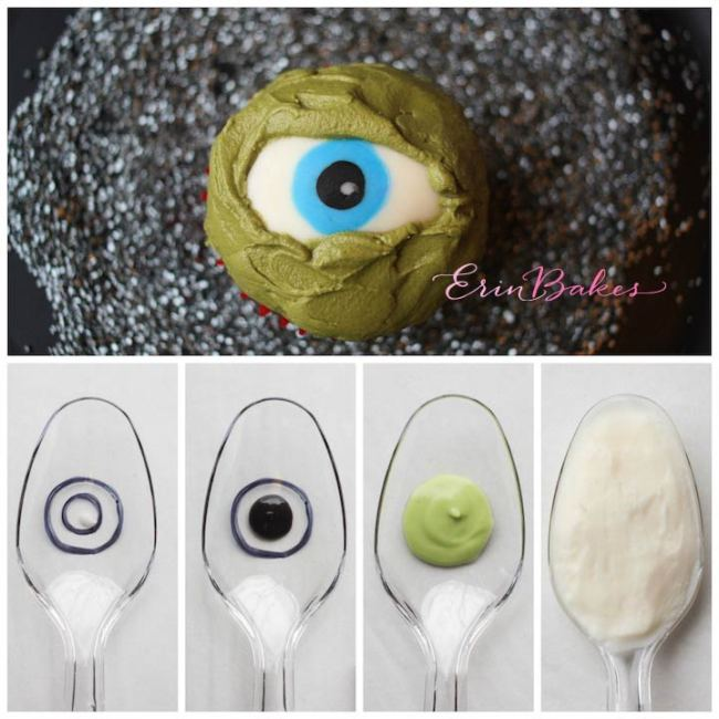 Creepy Chocolate Eyeball Tutorial | Erin Gardner | ErinBakes.com