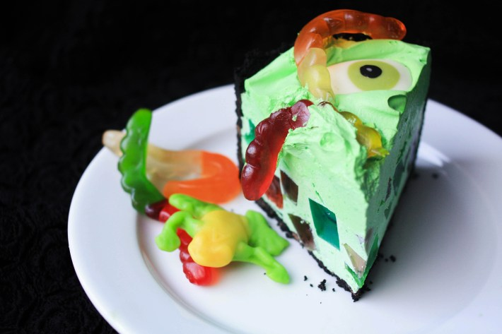 Witch's Cauldron Broken Glass Dessert | Erin Gardner | ErinBakes.com