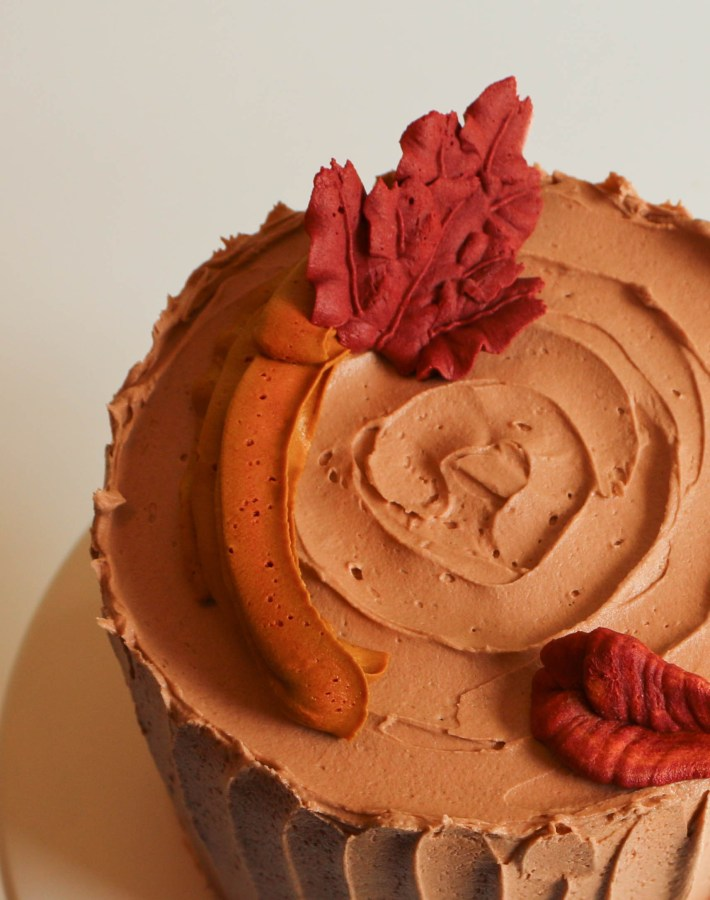 Buttercream Fall Leaves | Erin Bakes
