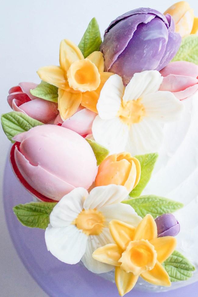 Chocolate Flower Tutorial   Chocolate Daffodil   Erin Gardner