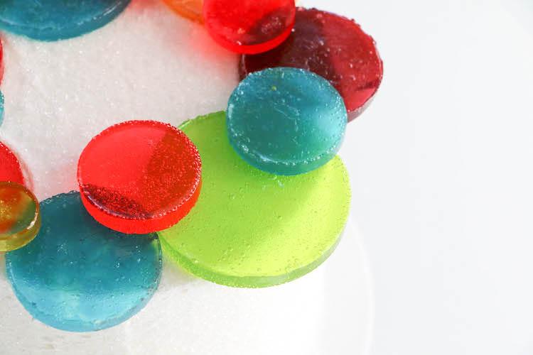Melted Candy Christmas Balls | Erin Bakes | Erin Gardner